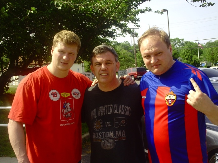 Александр Поветкин прибыл в США (1)