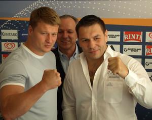 Поветкин - Чагаев. Пресс-конференция в Эрфурте (2)