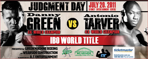 danny green vs antonio tarver