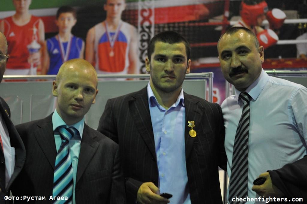 В Грозном завершился юношеский чемпионат Европы по боксу (1)