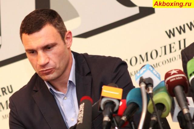 Виталий Кличко: «Я не буду недооценивать Адамека» (1)