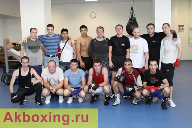 Спарринги боксеров в МЦБИ (1)