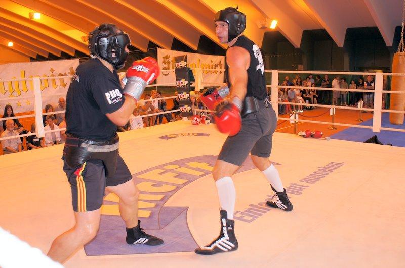 Тренировка Виталия Кличко (2)