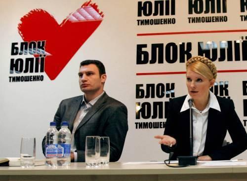 Виталий Кличко прервал подготовку к бою ради Юлии Тимошенко (1)