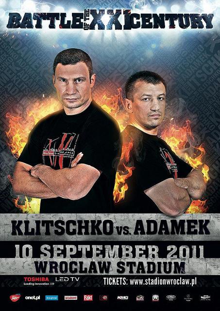 Подготовка Виталия Кличко к бою с Адамеком (1)