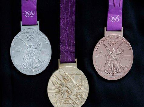 Олимпийская медаль Лондона 2012, весит 400 грамм! (1)