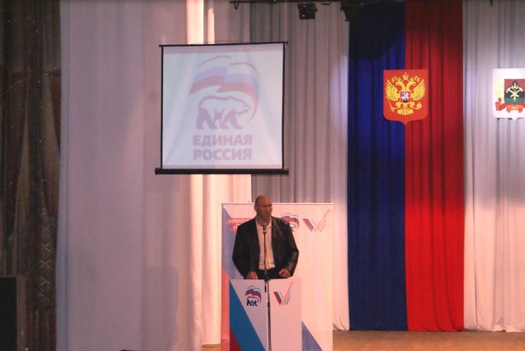 Чемпион Мира по боксу, Николай Валуев, набрал 64,6 % голосов (1)