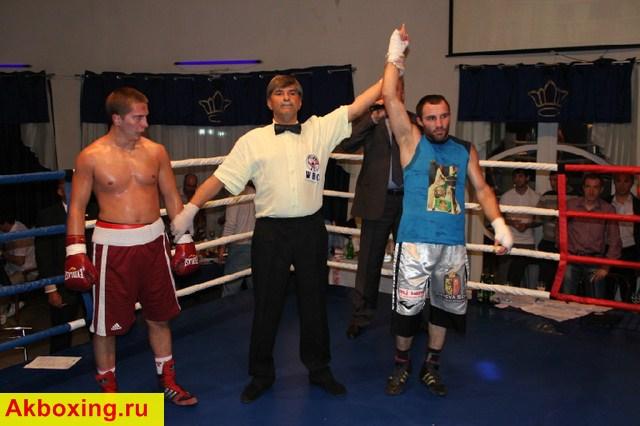 Боксерское шоу во Владикавказе (1)