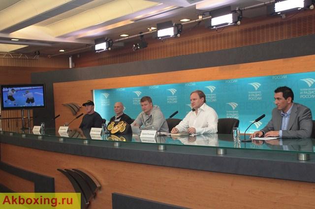 Пресс-конференция Александра Поветкина в Москве (видео) (1)