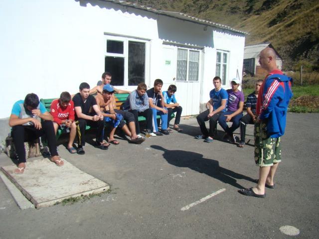 Боксеры Юга и Севера Осетии готовятся к новым победам (2)