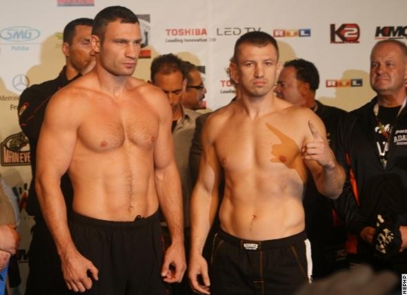 Виталий Кличко и Томаш Адамек сделали вес (1)