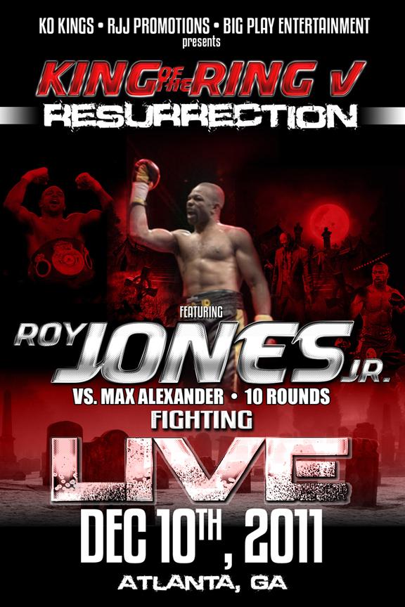 Рой Джонс возвращается! (1)