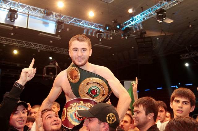 Заурбек Байсангуров - чемпион Мира по версии WBO! (1)