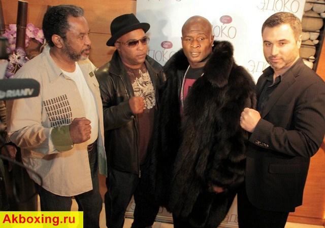 Джеймс Тони, Леймон Брюстер и Исмаил Силлах в Москве! (2)