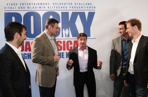 """Братья Кличко ставят мюзикл """"Рокки"""" (1)"""