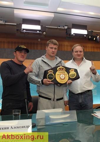 Александр Поветкин: Скоро будет мой бой с Кличко (1)