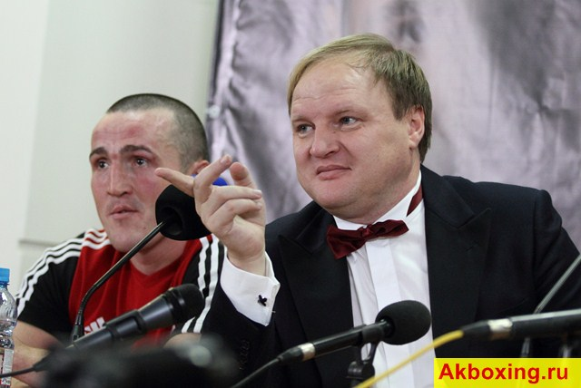Денис Лебедев и Владимир Хрюнов