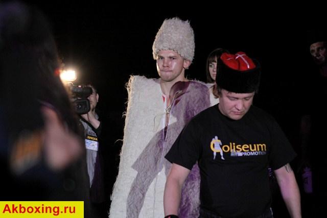 Тренировочный спарринг Константина Питернова (1)