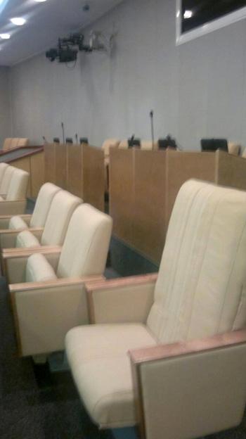 Кресло Николая Валуева в Госдуме РФ