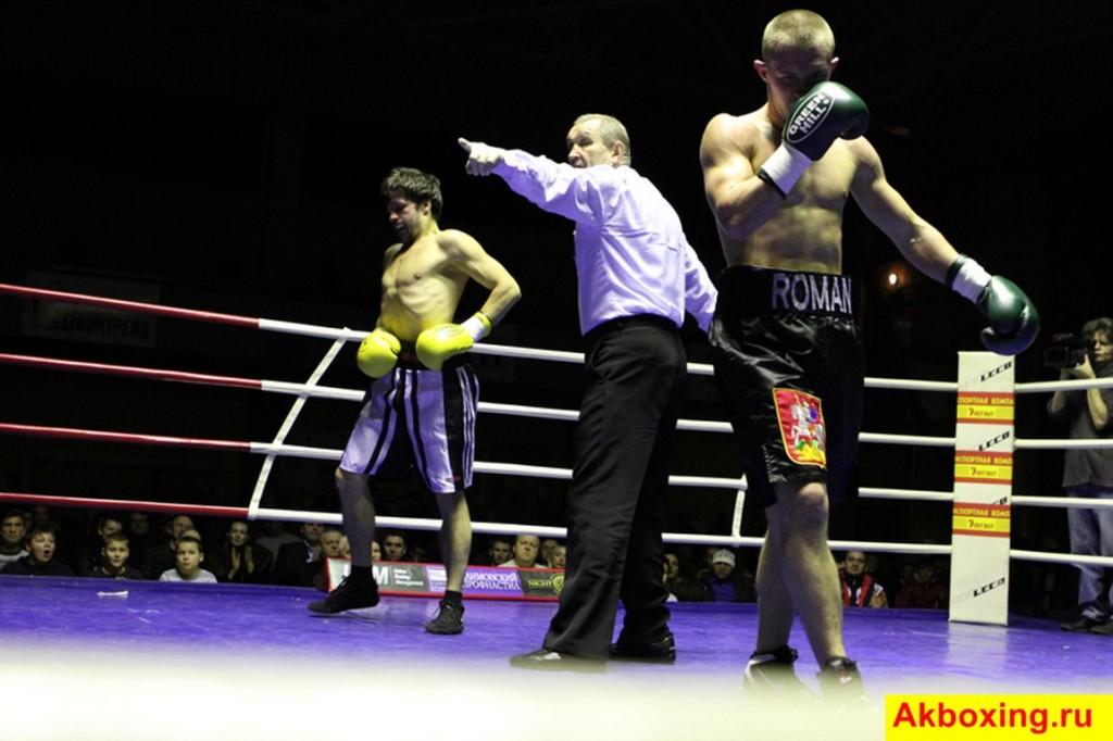 Итоги профессиональных боев в Подольске (фотогалерея) (1)