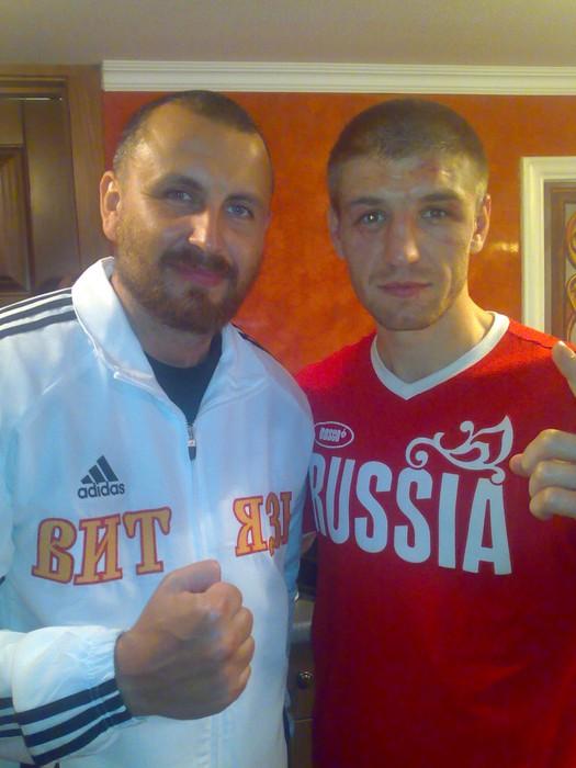 Родион Пастух и Дмитрий Пирог