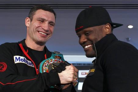 Чизора и Кличко открывают сезон большого бокса (1)