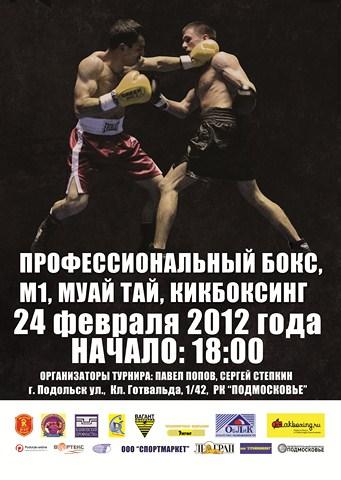 Бокс в Подольске
