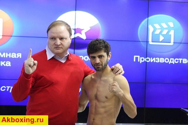 Владимир Хрюнов и Хабиб Аллахвердиев