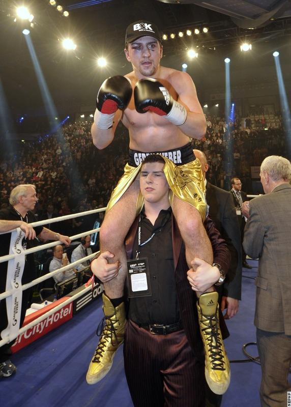Александр Поветкин - Марко Хук. Заявления боксеров после боя (2)