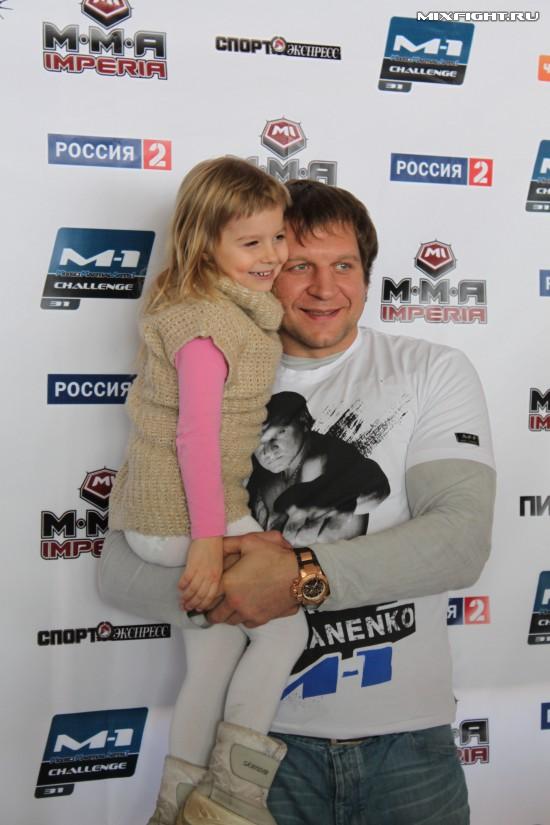 Александр Емельяненко: Счастье для меня - это моя дочка и моя семья (1)
