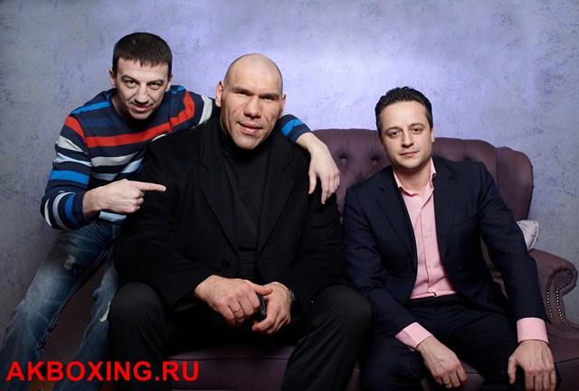 Александр Колесников, Николай Валуев и Юрий Федоров