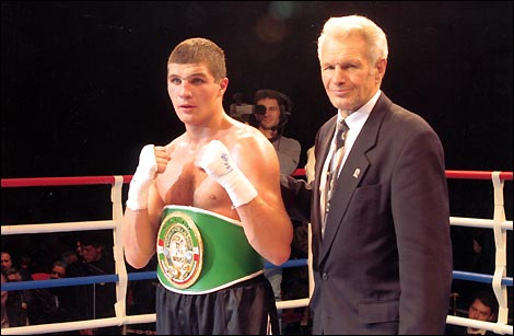 Сергей Караневич и Борис Лагутин