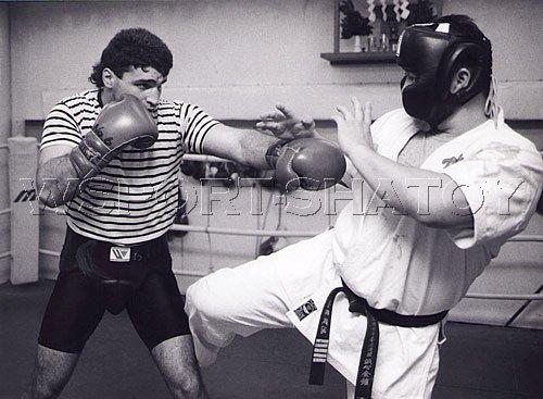 "Боксеры против каратистов. Победил ""спецназ"" (1)"