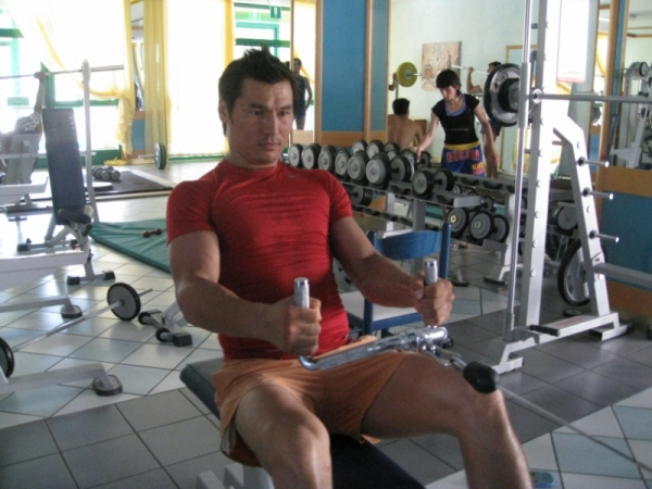 Тренировка Бату Хасикова (видео) (1)