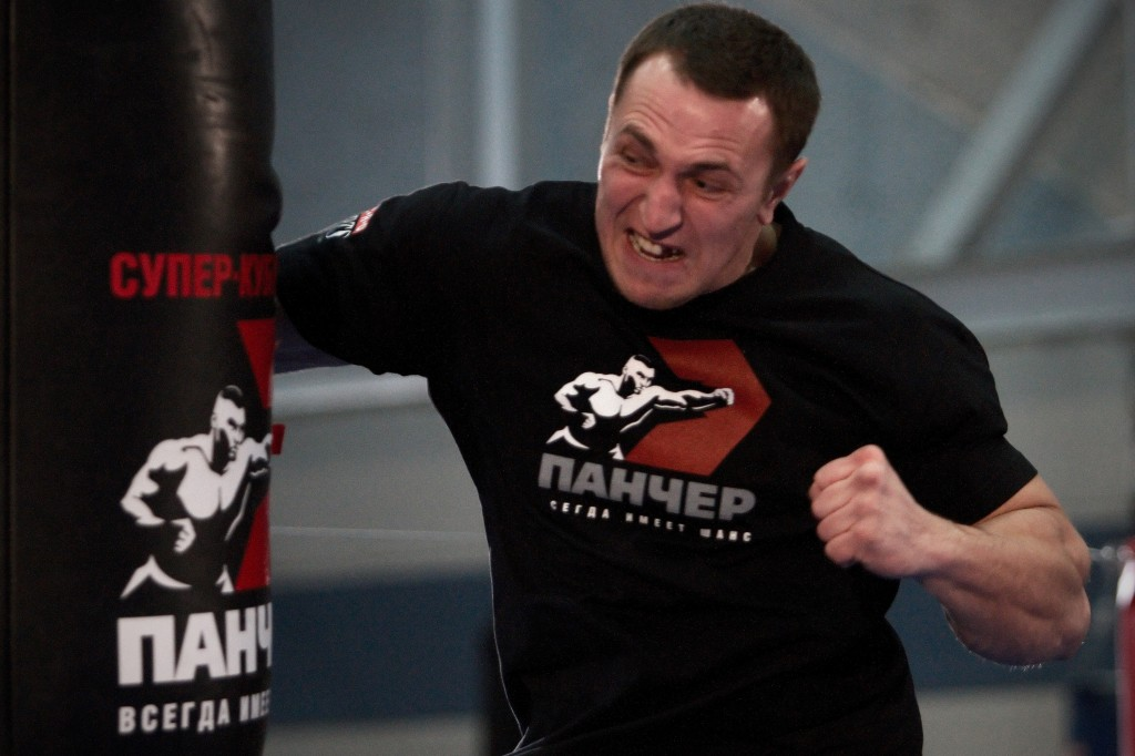 Чемпионат по силе удара в Санкт-Петербурге (видео) (1)