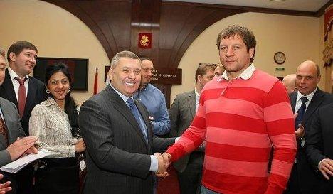 Александр Емельяненко назначен советником главы Москомспорта (1)
