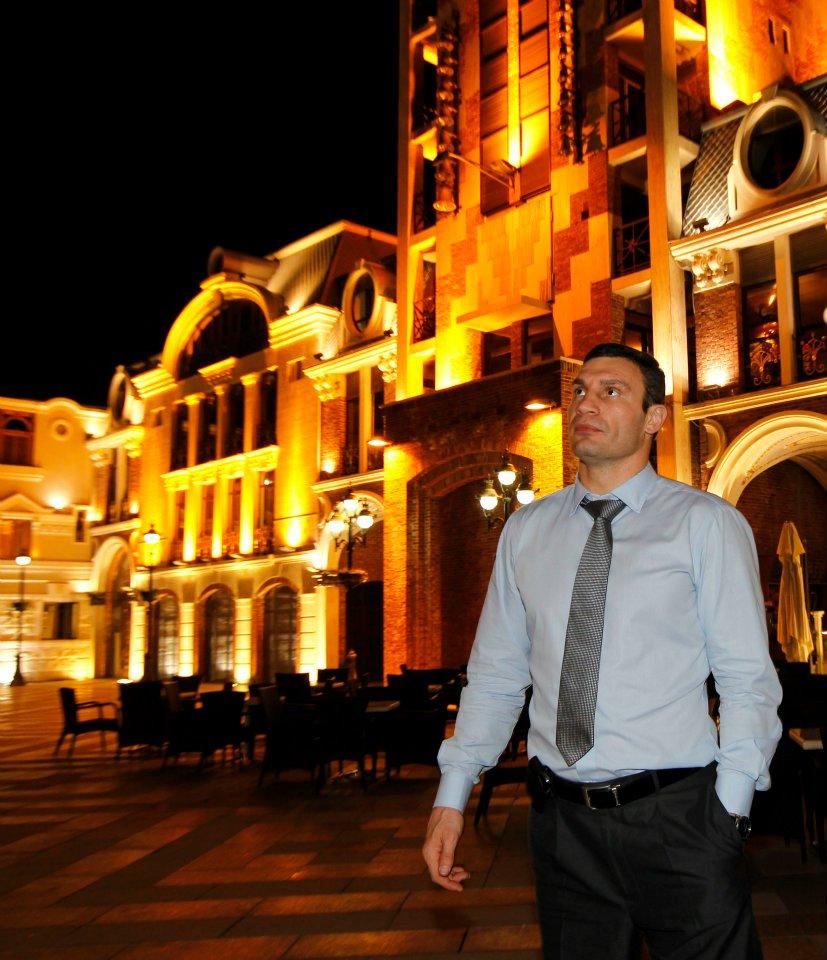 Кличко будет внедрять опыт Саакашвили на Украине (1)