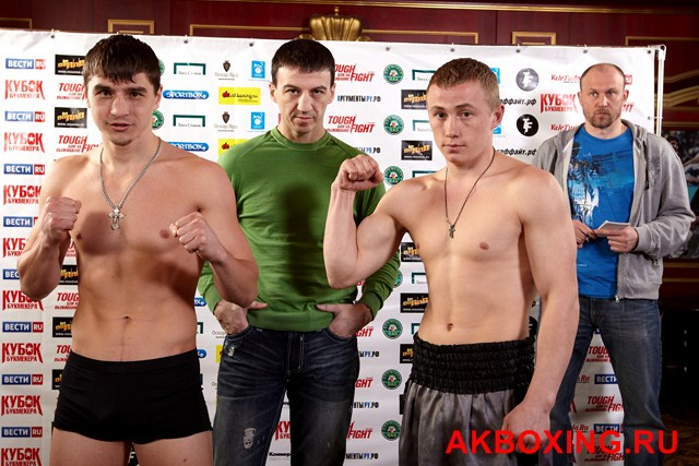 Александр Украинец (Москва/Россия) VS Богдан Процишин (Ровно/Украина)