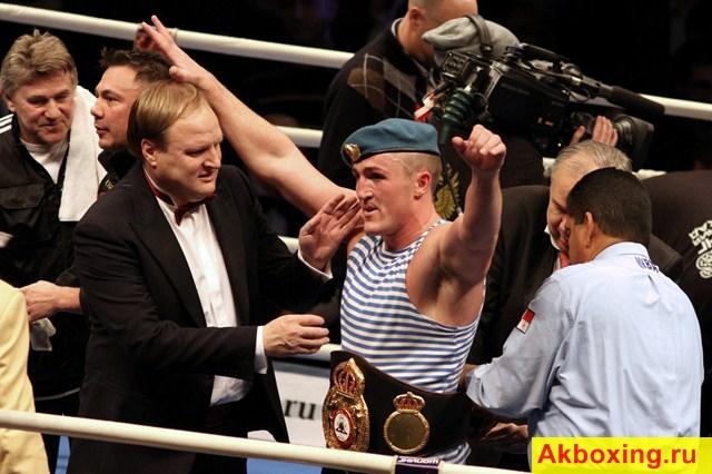 Лебедев отменил свой бой с Мормеком (1)