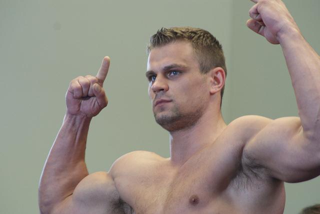 Тренировка Дениса Бойцова (видео) (1)