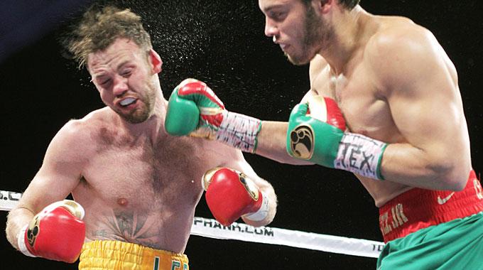 Чавес-младший нокаутировал Энди Ли в седьмом раунде (1)