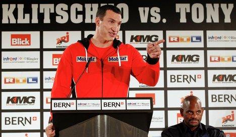 Владимир Кличко не верит в травму Томпсона (1)