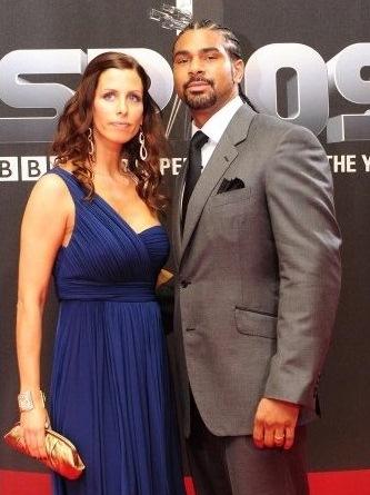 Дэвид Хэй со своей женой Наташей
