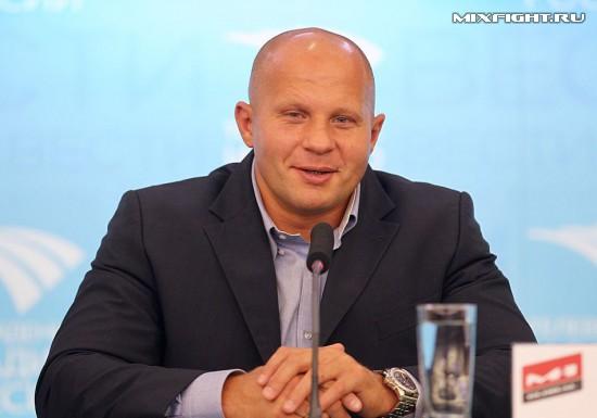 Федор Емельяненко вошёл в состав президентского Совета  по спорту (1)