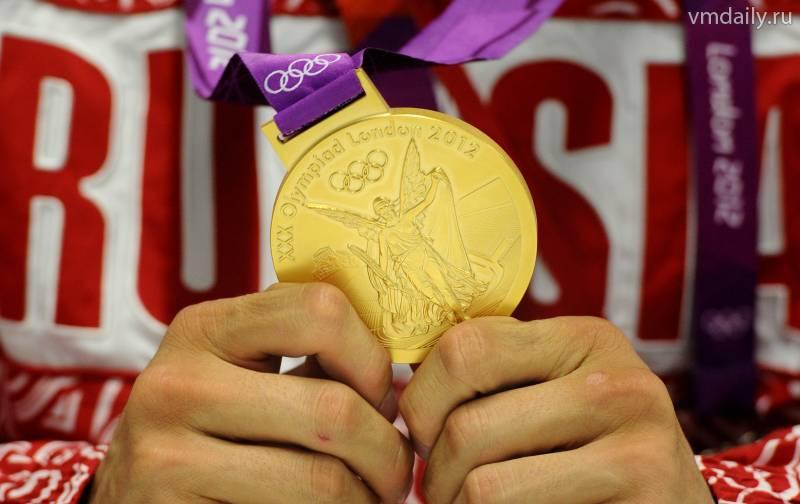 Размер денежного вознаграждения за олимпийские медали в Лондоне (1)