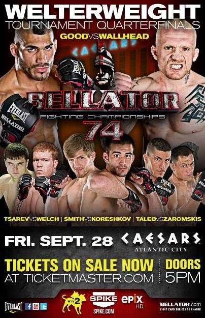 Bellator-7: Корешков против Смита, Царев против Велча (видео) (1)