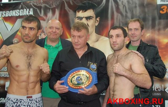 Саша Енгоян и Асланбек Козаев сделали вес (1)