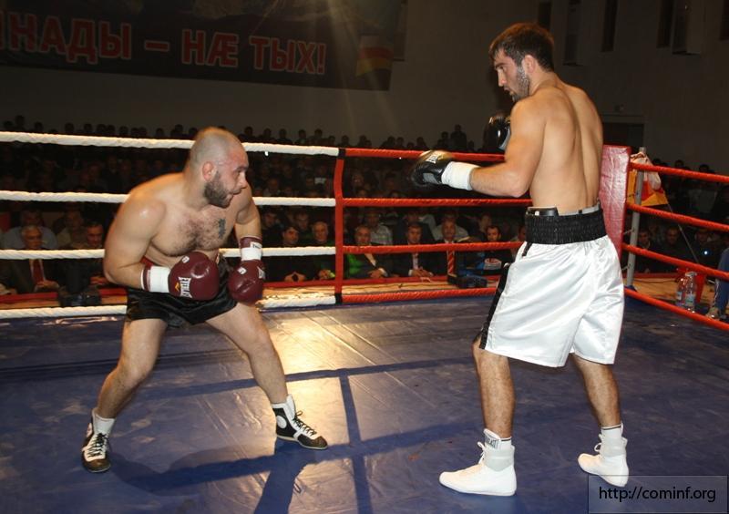 Первые профессиональные бои в Южной Осетии! (3)