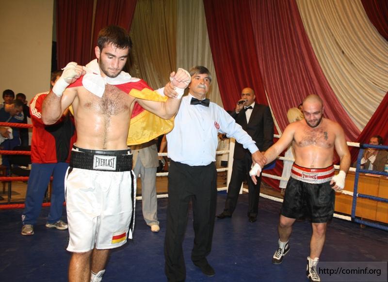 Первые профессиональные бои в Южной Осетии! (1)