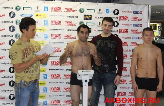ТАФФАЙТ: Байрам Мухаммедов - Евгений Чупраков